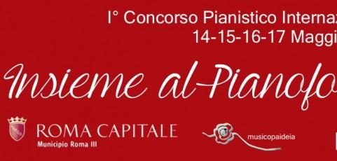 """I concorso pianistico Internazionale """"Insieme al pianoforte"""""""